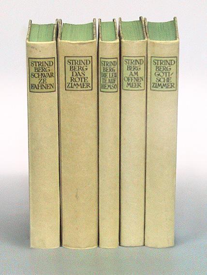 Ausgewählte Romane in fünf Bänden. Das Rote: Strindberg, August.