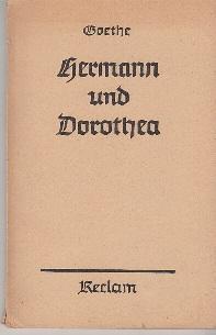 Hermann und Dorothea: J. W. v.