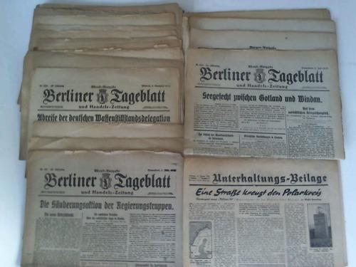 32 Ausgaben: Berliner Tageblatt und
