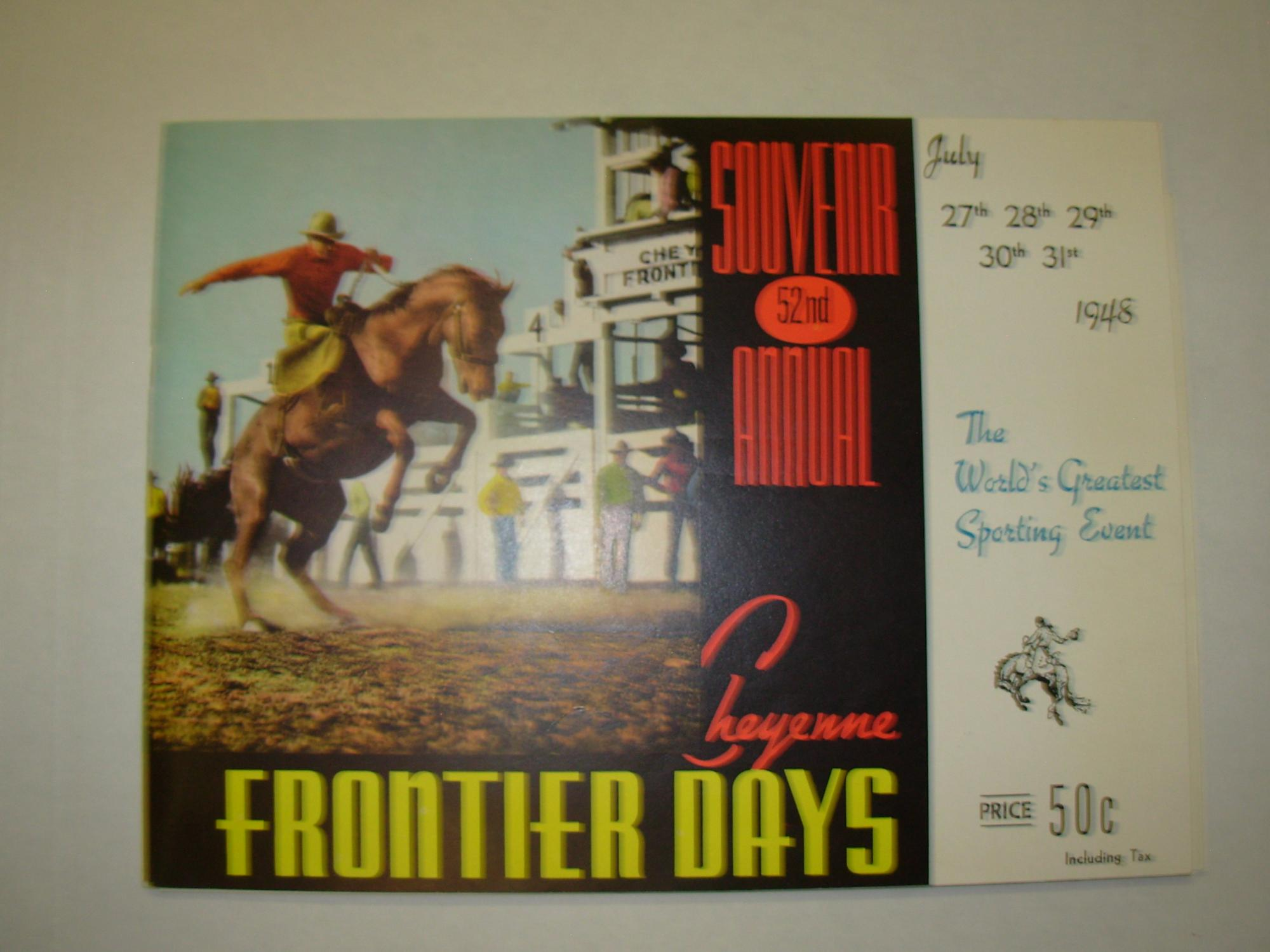 1992 Cheyenne Frontier Days Souvenir Program