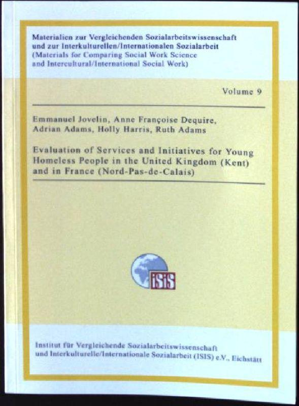 Evaluation of Services and Initiatives for Young: Adams, Adrian, Ruth
