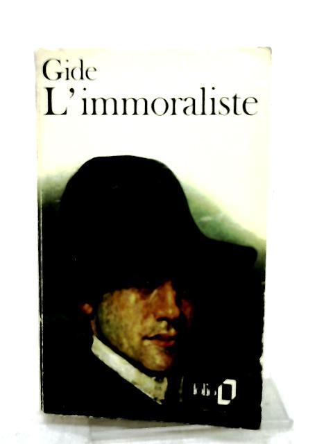 L'Immoraliste (Folio Ser. No. 229): Gide, Andre