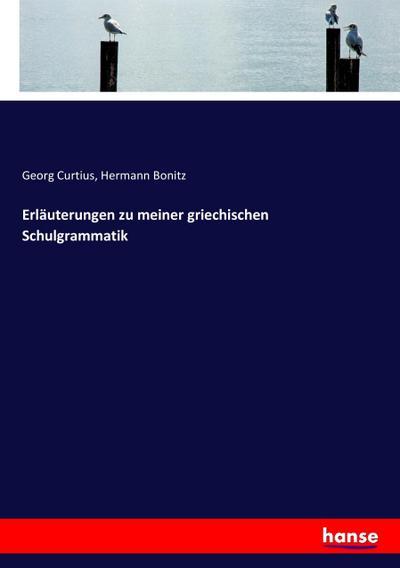 Erläuterungen zu meiner griechischen Schulgrammatik: Georg Curtius