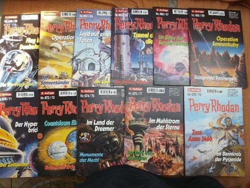 Perry Rhodan - Konvolut 11 Doppelbände Serien: Perry Rhodan; William