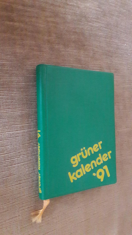 Grüner und Alternativer Kalender. 1991