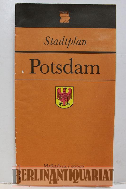 Stadtplan Potsdam. Erläuterungen rückseitig. Maßstab: 1: 20.000.: Potsdam:
