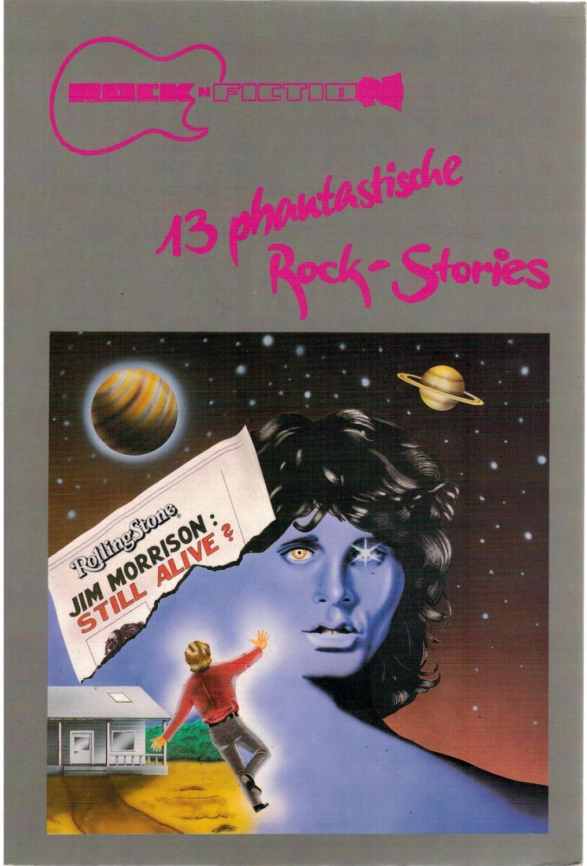 13 phantastische Rock-Stories: Alpers, Hans J;