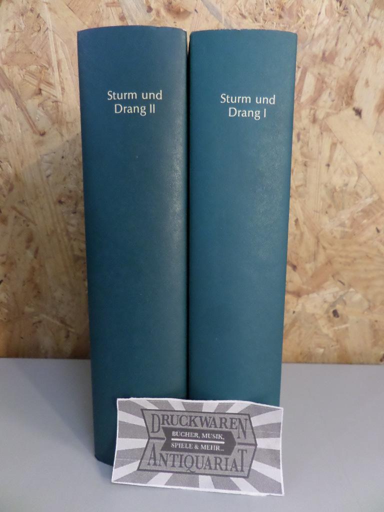 Sturm und Drang [2 Bände, komplett].: Gras-Racic, Marion: