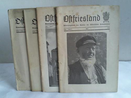 Mitteilungsblatt des Bundes der Ostfriesischen Heimatvereine. 4: Ostfriesland)