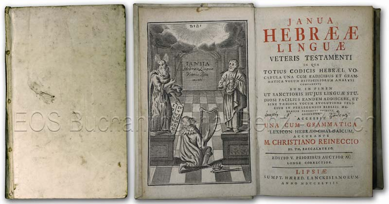 Janua Hebrææ lingvæ veteris testamenti. In qua: Reineccio, Christiano d.