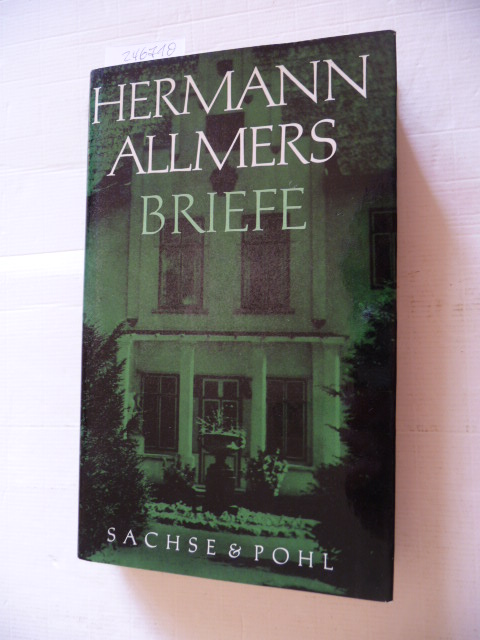 Briefe: Allmers, Hermann