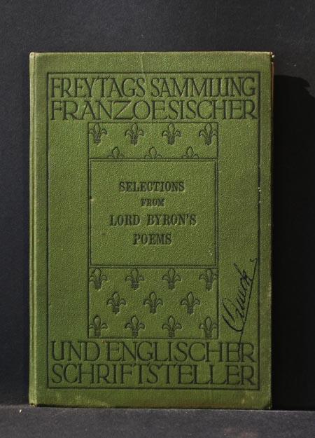 Freytags Sammlung französischer und englischer Schriftsteller) Selections: Lord Byron