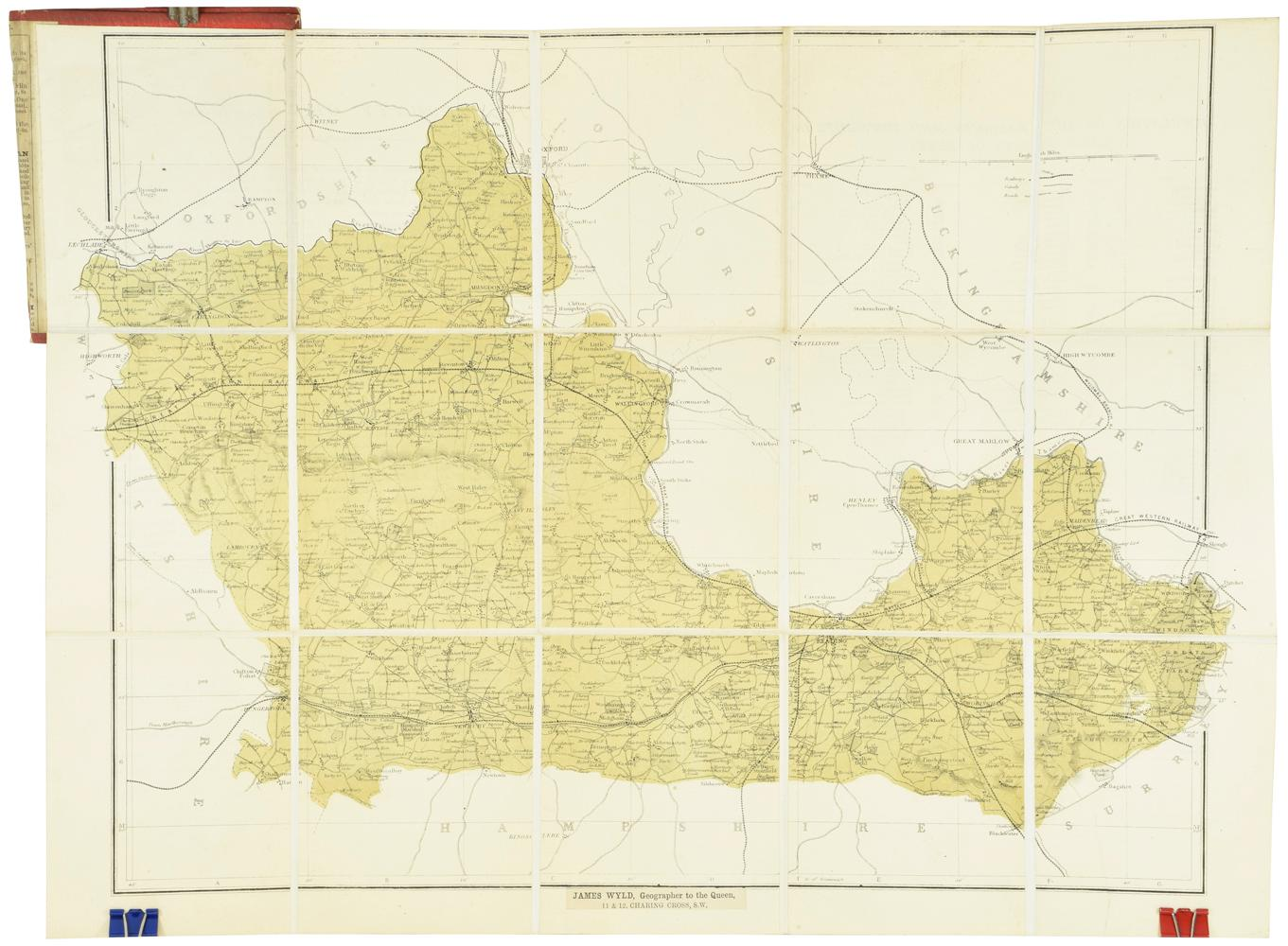 Berkshire [Map]: WYLD, James