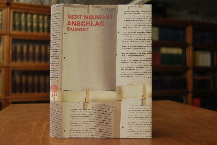 Anschlag.: Neumann, Gert: