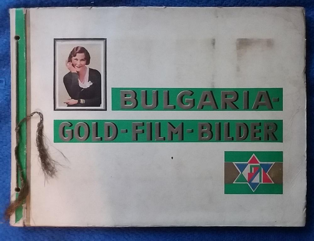 Sammelalbum - Bulgaria Gold-Film-Bilder: Bulgaria Zigarettenfabrik