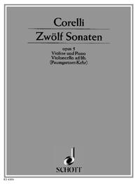 Zwölf Sonaten op. 5 - Bd. 1 - Corelli, Arcangelo