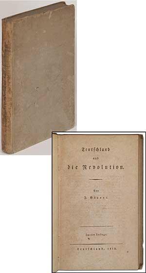 Teutschland und die Revolution: GORRES, J. [Joseph