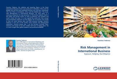 Risk Management in International Business : Exposure, Hedging, Due Diligence - Faustino Taderera