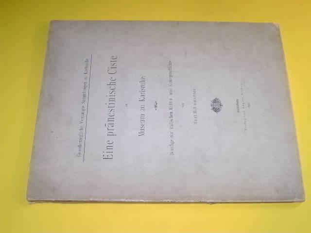 Eine pränestinische Ciste im Museum zu Karlruhe.: Schumacher, Karl: