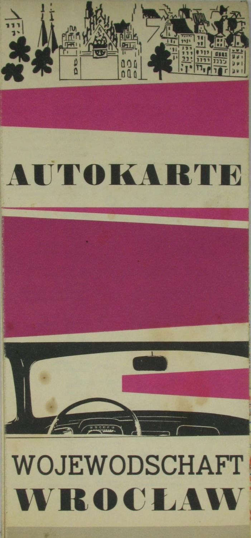 Autokarte Wojewodschaft Wroclaw,