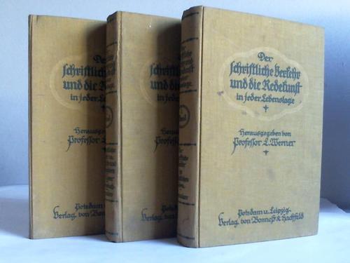 Der schriftliche Verkehr und die Redekunst in: Werner, L.