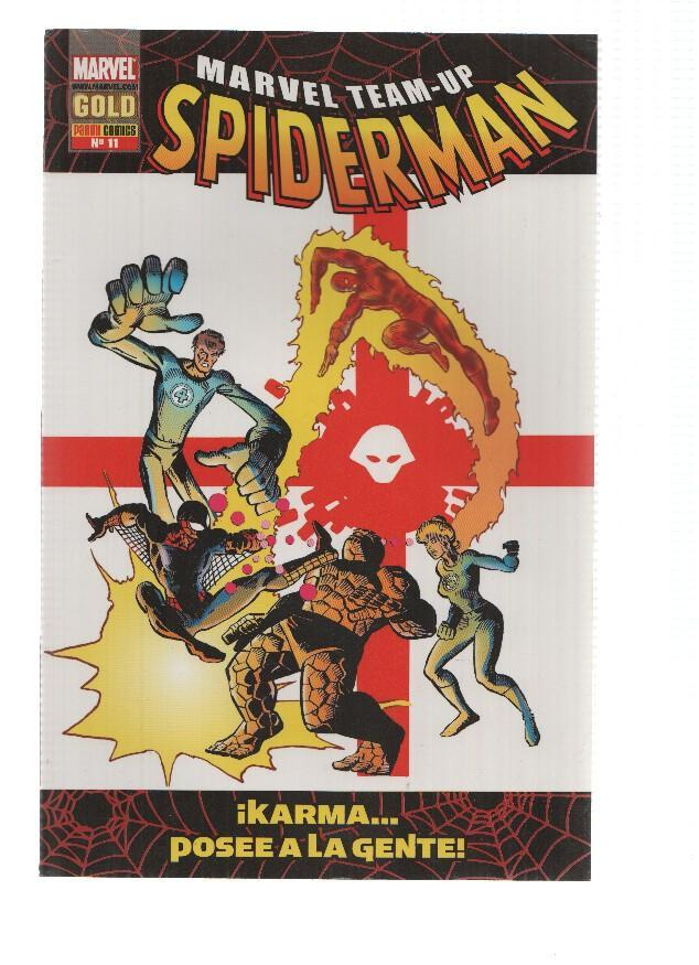MARVEL TEAM-UP SPIDERMAN, Volumen 2, Numero 08: Karma posee a la Gente (Panini 2007) - Chris Claremont
