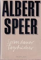 Spandauer Tagebücher.: Speer, Albert: