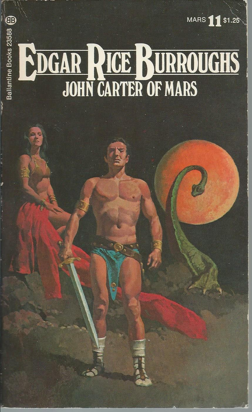 edgar rice burroughs - john carter of mars - First Edition - AbeBooks