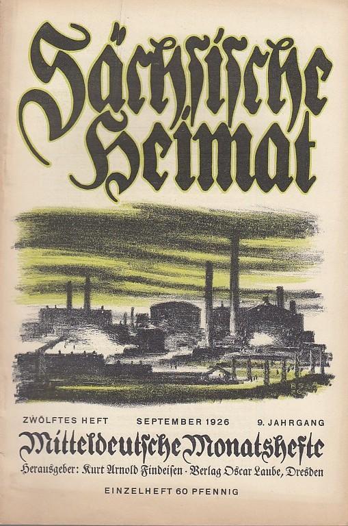 Sächsische Heimat - Mitteldeutsche Monatshefte - Zeitschrift: Sächsische Heimat -