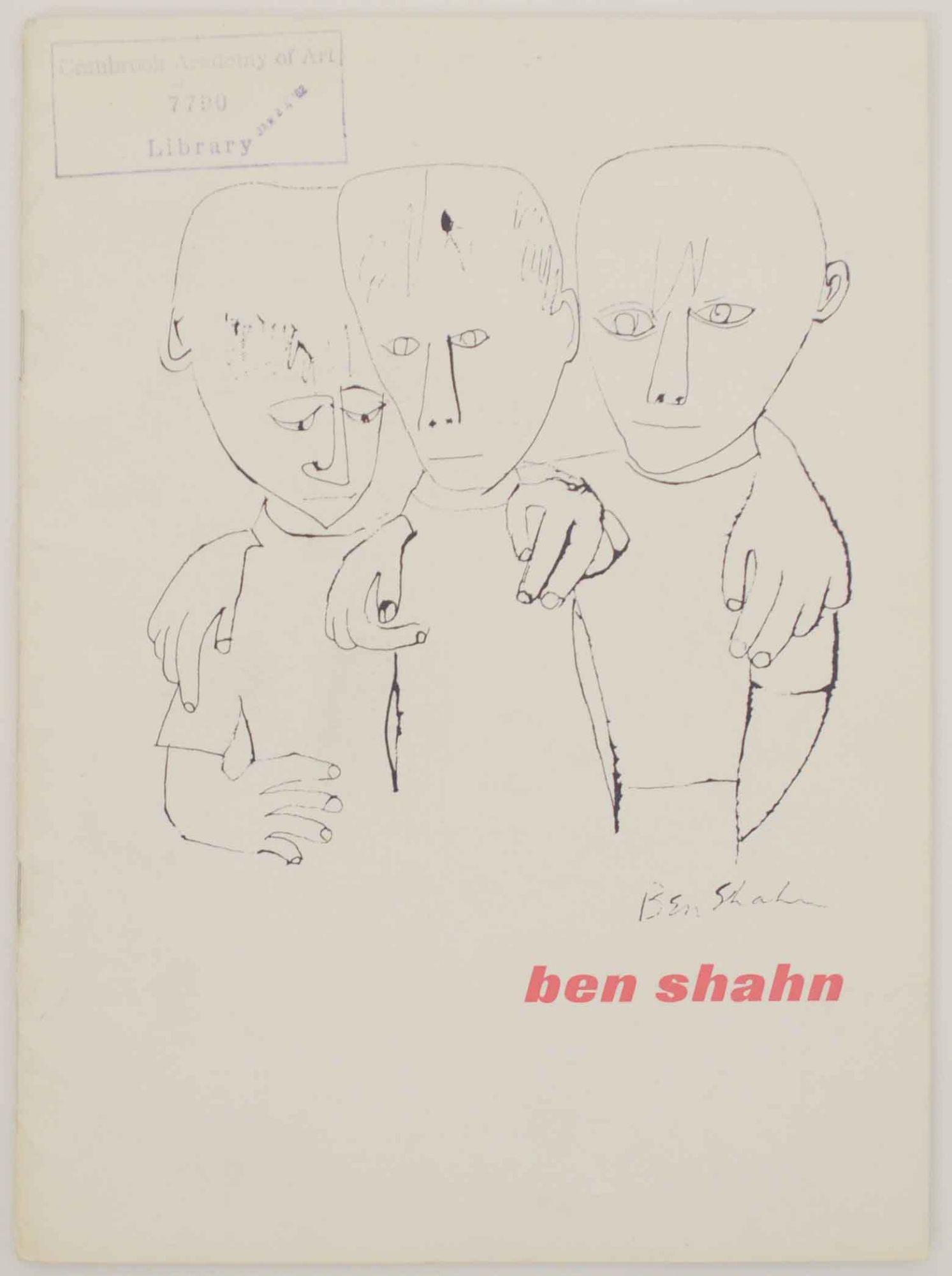 Ben Shahn: SHAHN, Ben