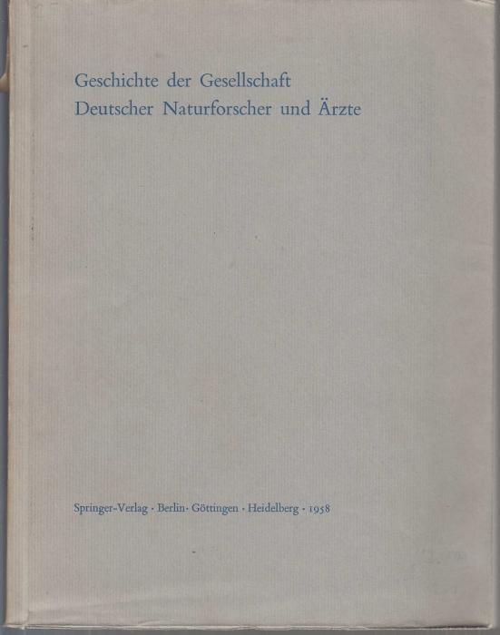 Geschichte der Gesellschaft Deutscher Naturforscher und Ärzte.: Pfannenstiel, Max