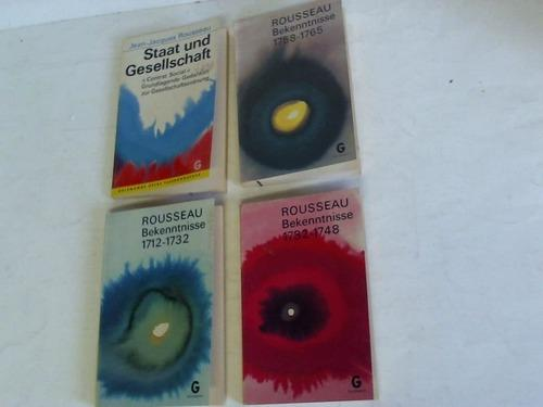 4 Bände: Rousseau, Jean-Jacques
