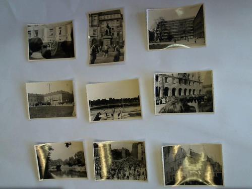 9 Originalfotos aus den 50er Jahren zu: Breslau/Wroclaw
