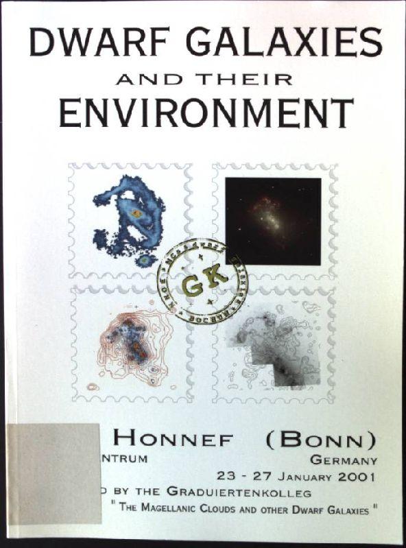 Dwarf Galaxies and their Environment: de Boer, Klaas