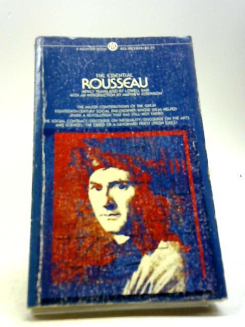Essential Rousseau (Mentor Books): Rousseau, Jean-Jacques