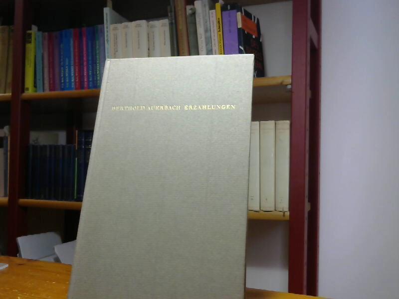 Erzählungen. Eine Auswahl.: Auerbach, Berthold: