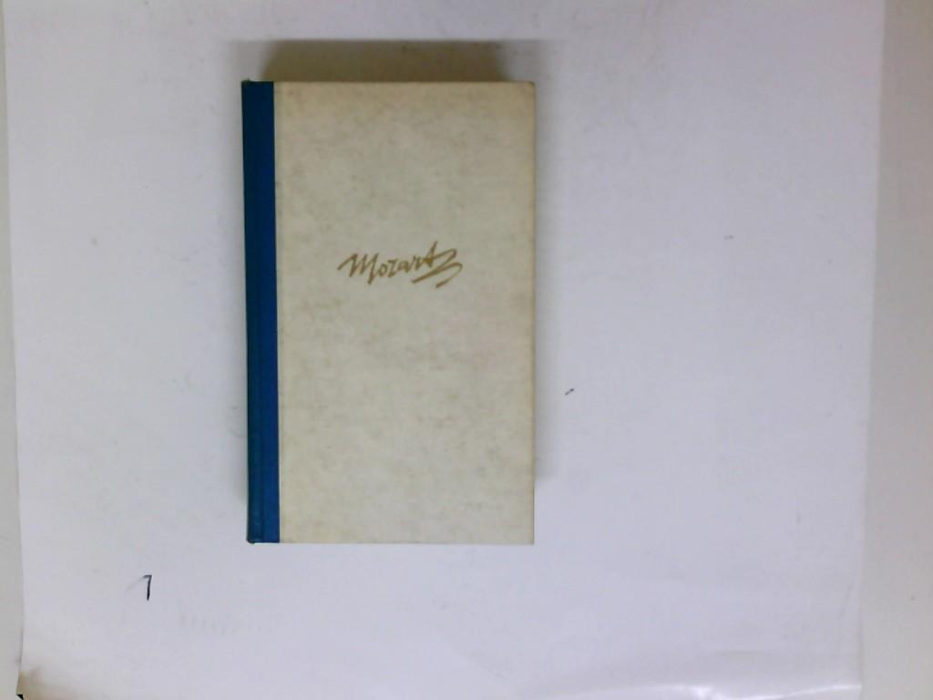 Mozart oder Geist, Musik und Schicksal: Jacob, Heinrich Eduard: