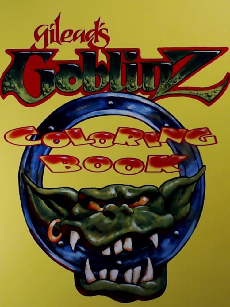 Gilead's Goblinz: Coloring Book: Artist, Gilead