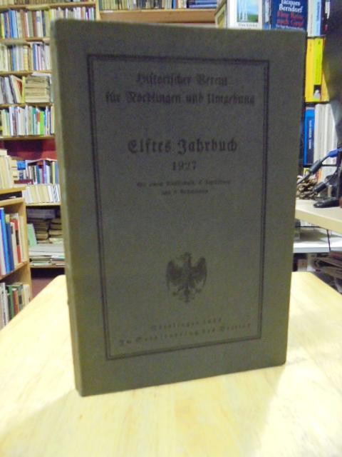 Historischer Verein für Nördlingen und Umgebung. Elftes: Nördlingen