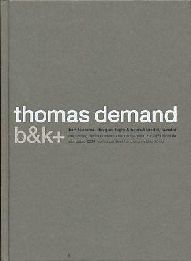Thomas Demand. Beitrag der Bundesrepublik Deutschland zur: Demand, Thomas: