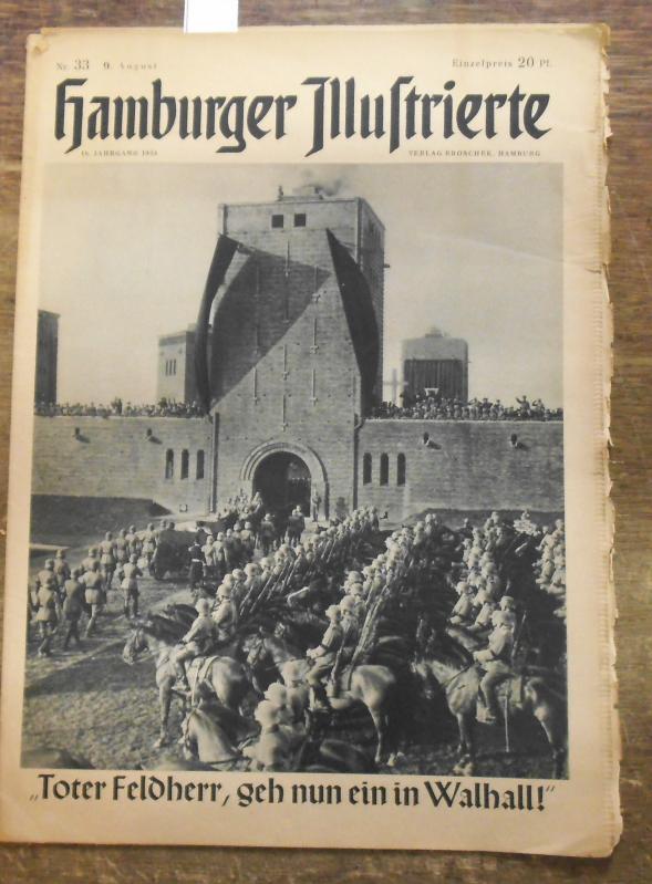 Hamburger Illustrierte. Nr. 33 vom 9. August: Hamburger Illustrierte. -