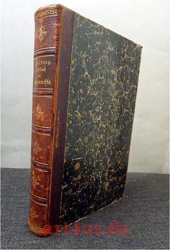 Lehrbuch des katholischen und evangelischen Kirchenrechts.: Friedberg, Emil: