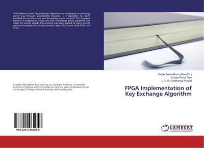 FPGA Implementation of Key Exchange Algorithm: Dubala Rama Devi