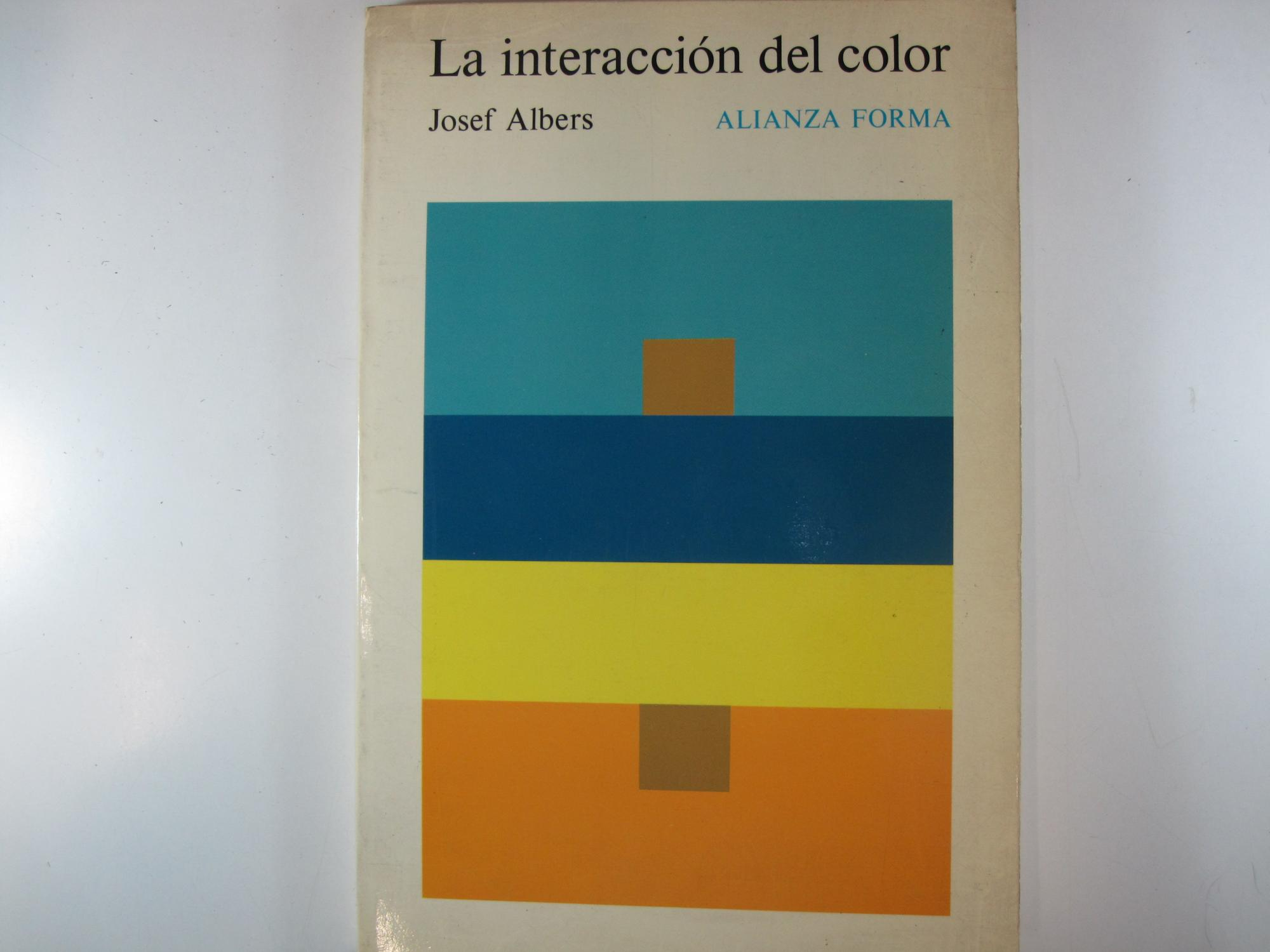 La Interacción Del Color By Josef Albers Costa Llibreter