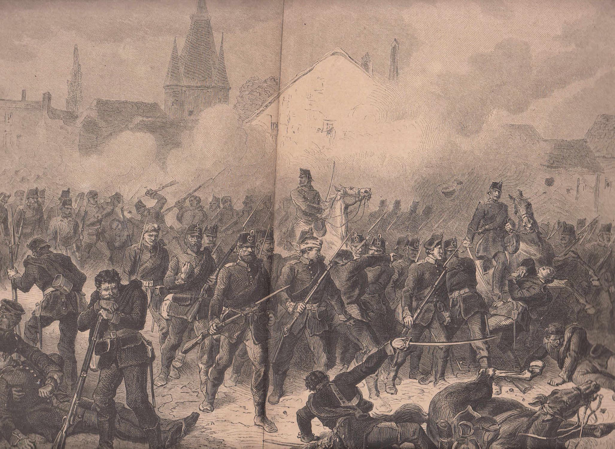 Die preußische Landwehr am 7. Oktober 1870: Metz,