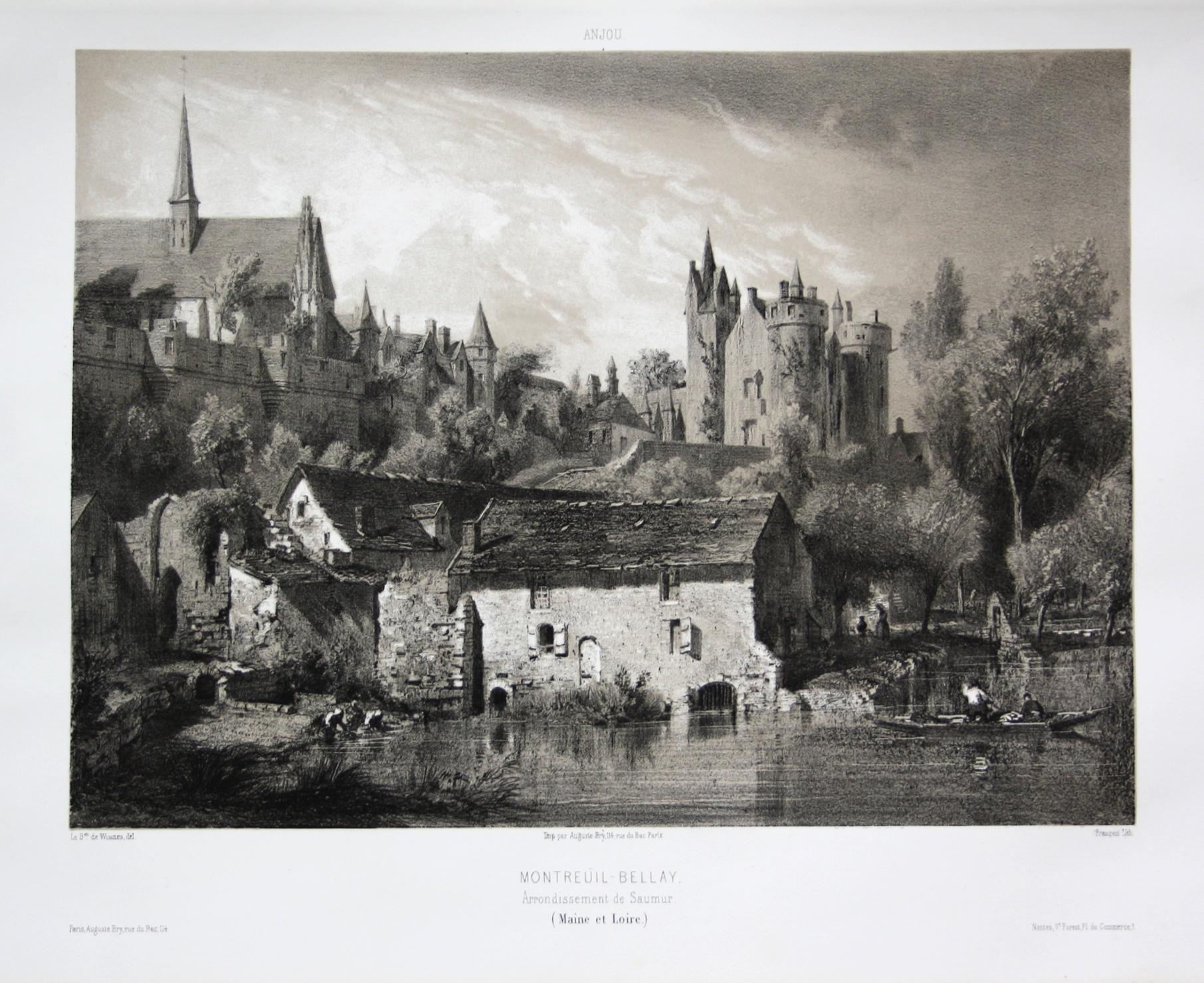 Montreuil-Bellay / Arrond. Saumur / Maine et: Wismes, Olivier de