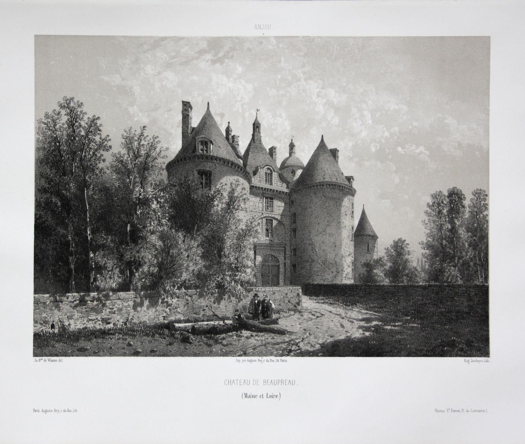 Chateau de Beaupreau / Maine et Loire: Wismes, Olivier de
