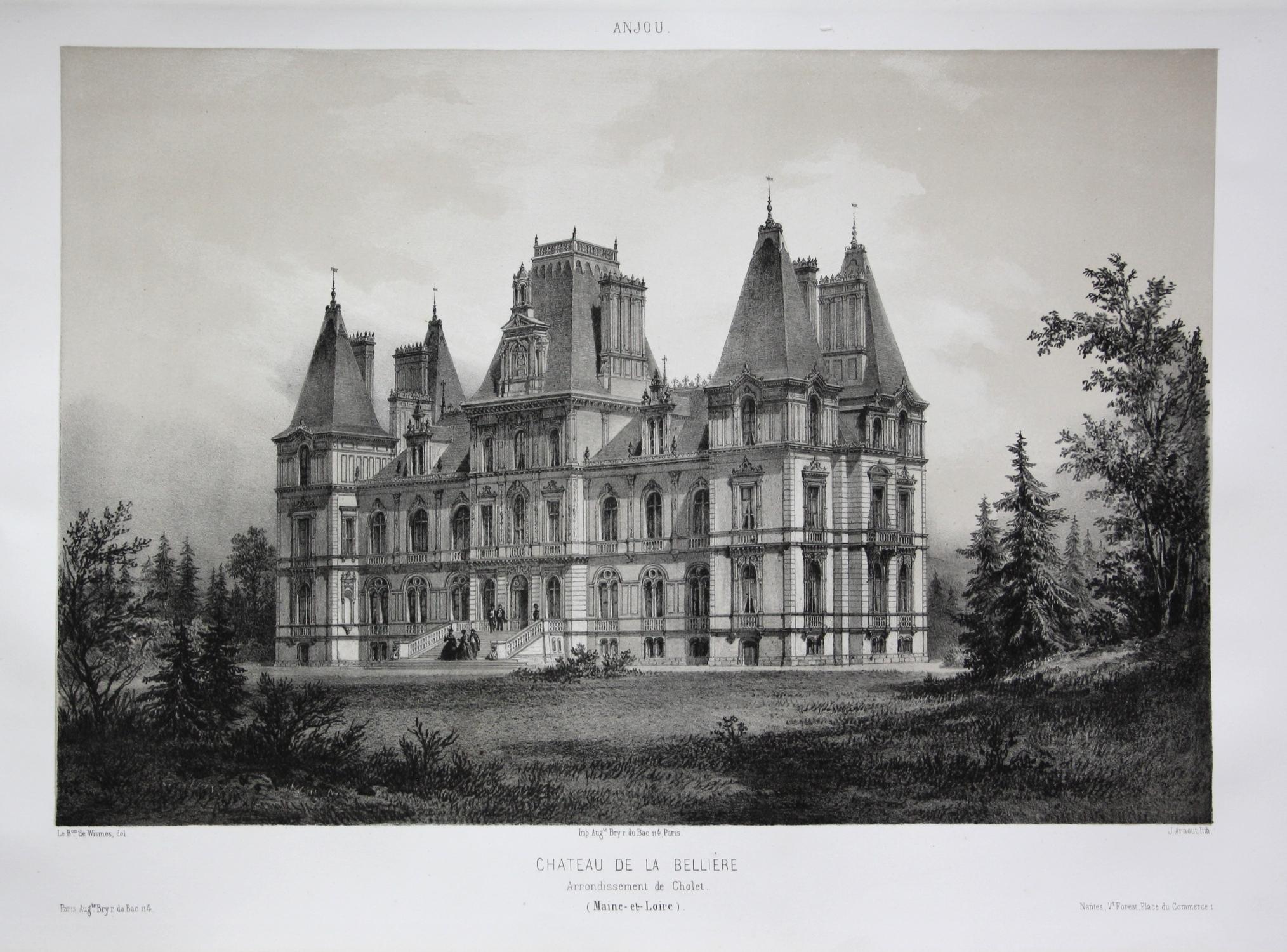Chateau de la Belliere / Arrond. Cholet: Wismes, Olivier de