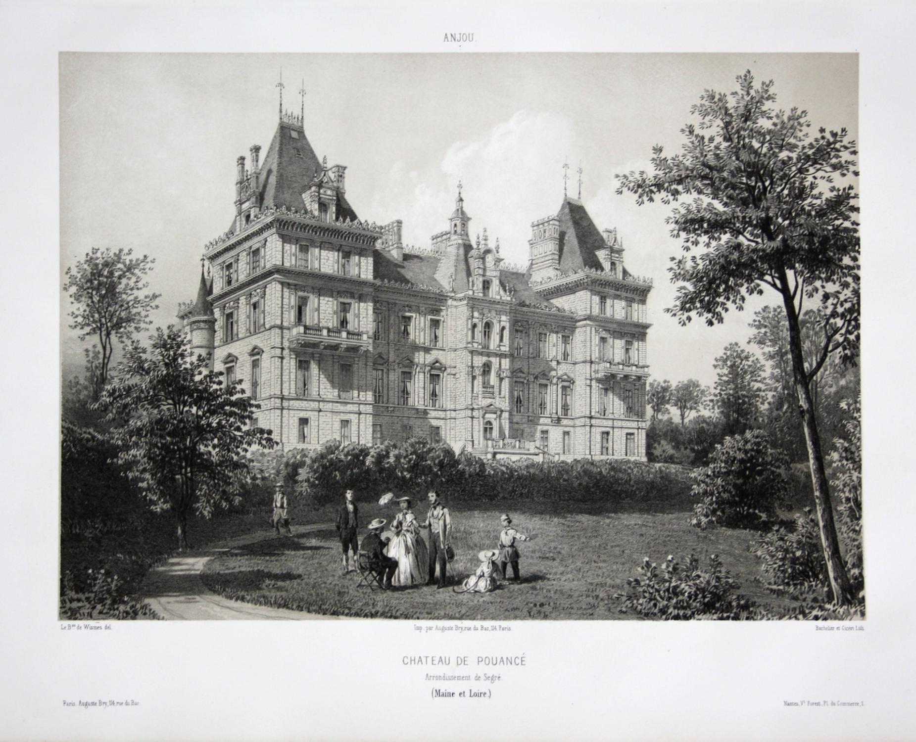 Chateau de Pouance / Arrond. Segre /: Wismes, Olivier de
