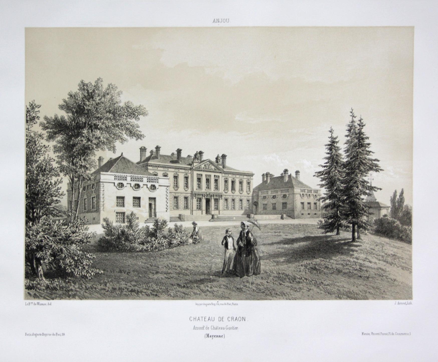 Chateau de Craon / Arrond. Chateau-Gontier /: Wismes, Olivier de